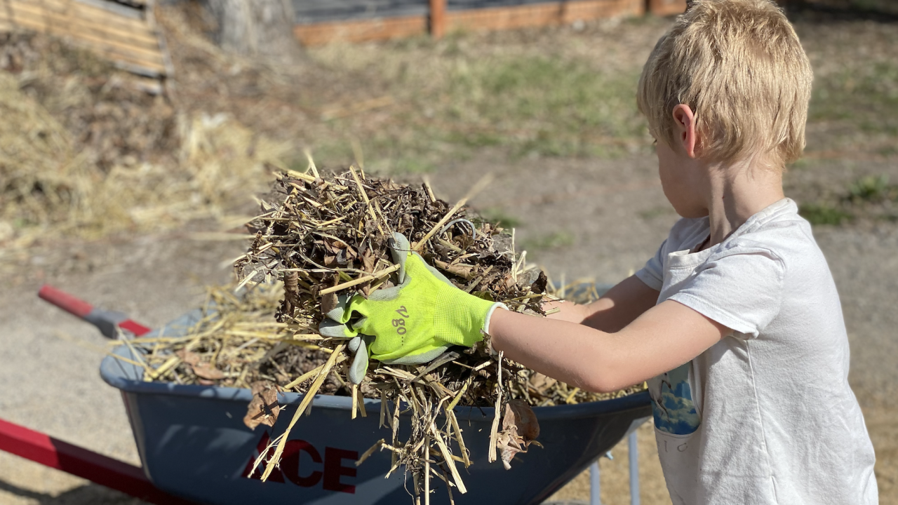 Gallatin Valley Farm to School Earth Day Work Party