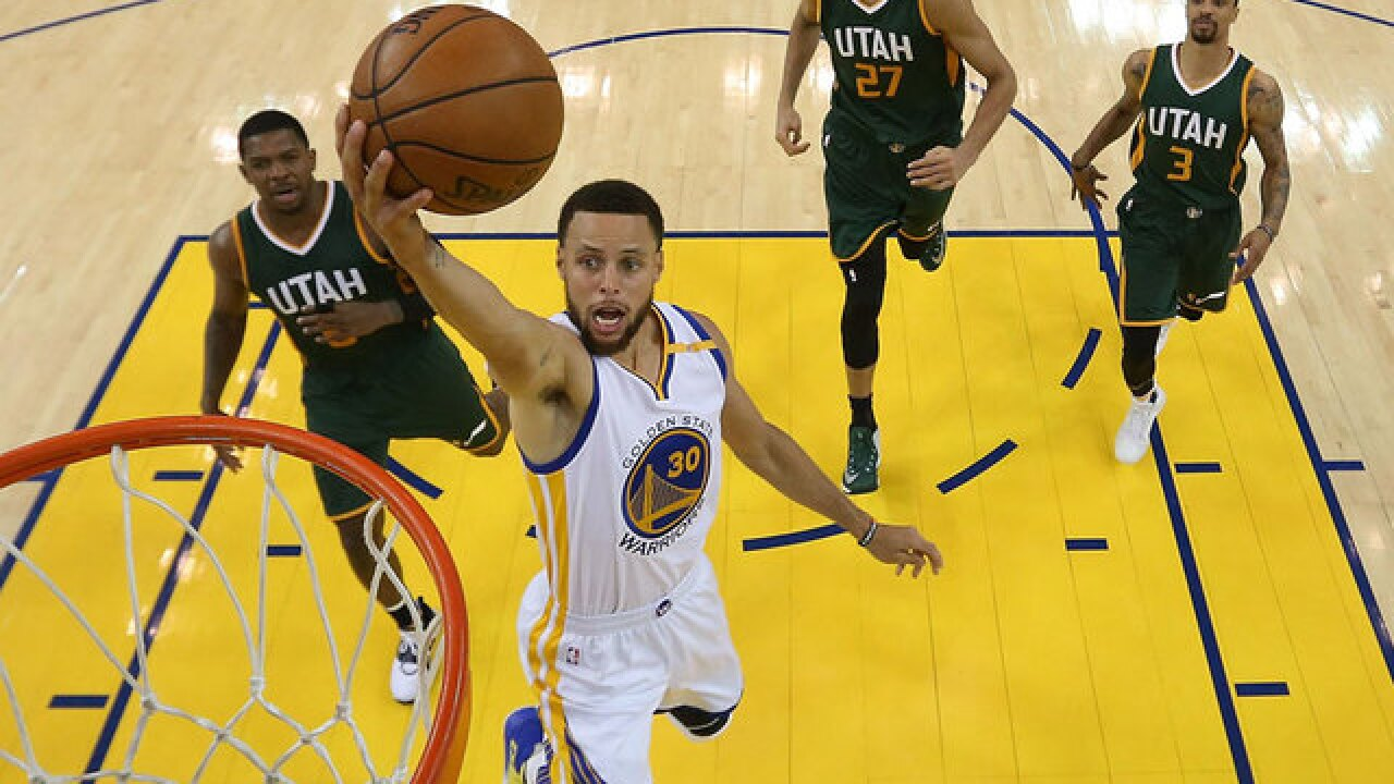 NBA star Stephen Curry destroys glass table in hotel room with golf swing