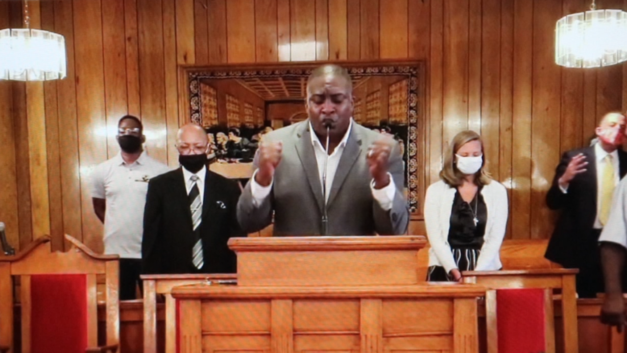 A word of prayer for schools in Gadsden County
