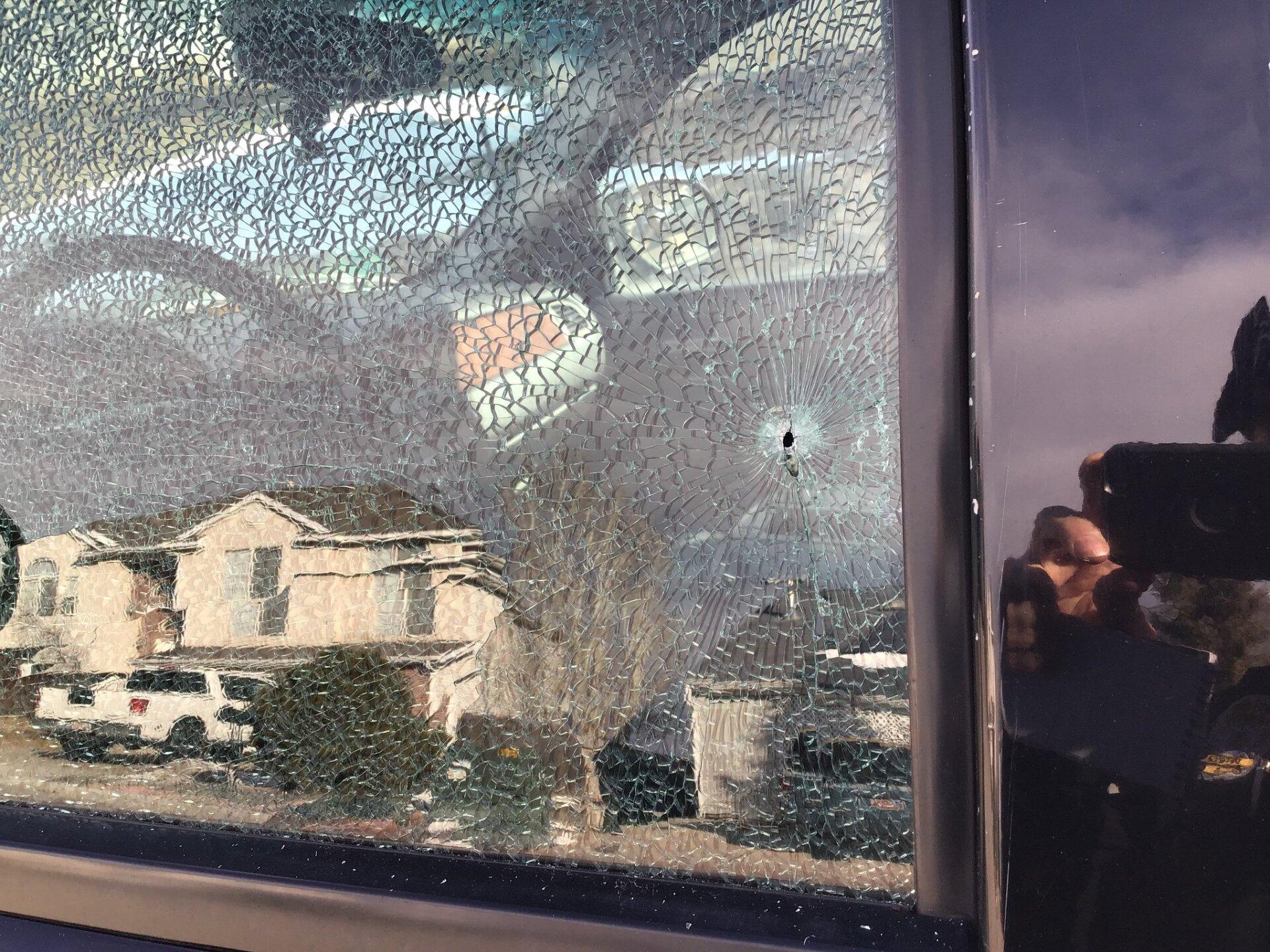 Photos: Several car and house windows shot by BB gun inLayton