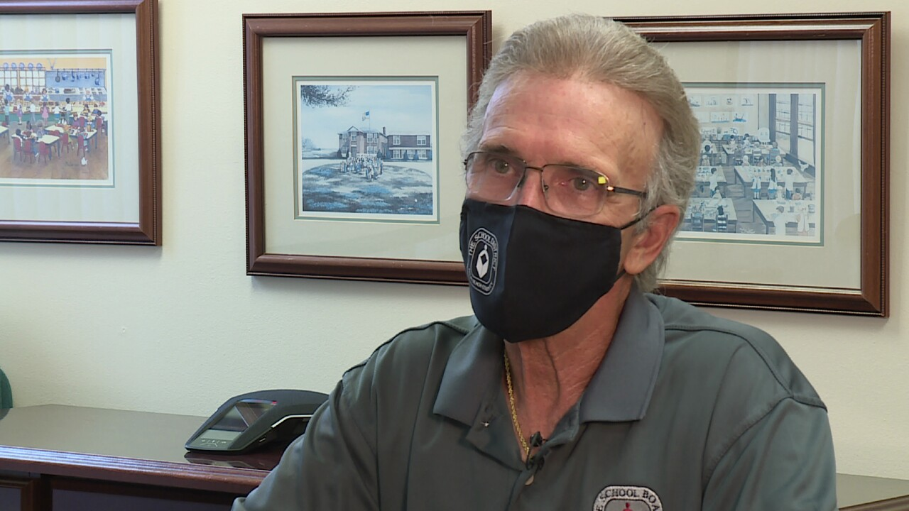 Palm Beach County School Board Chairman Frank Barbieri speaks to WPTV on Aug. 24, 2021.jpg