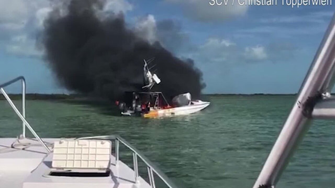 American tourist dies in boat explosion in the Bahamas