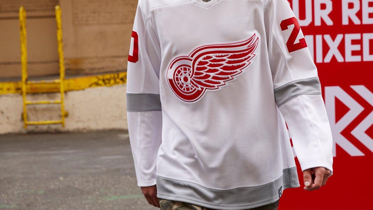 Detroit Red Wings Reverse Retro Alternate Uniform