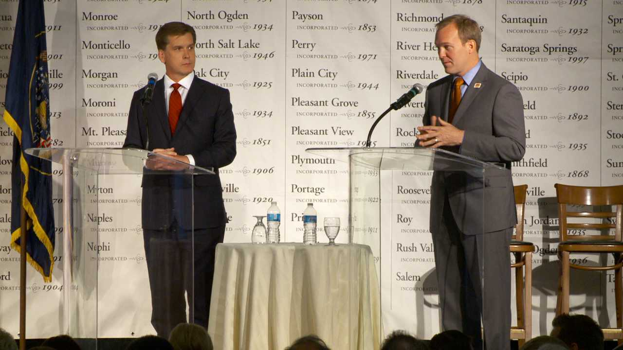 Salt Lake Co. mayoral candidates meet in intense debate