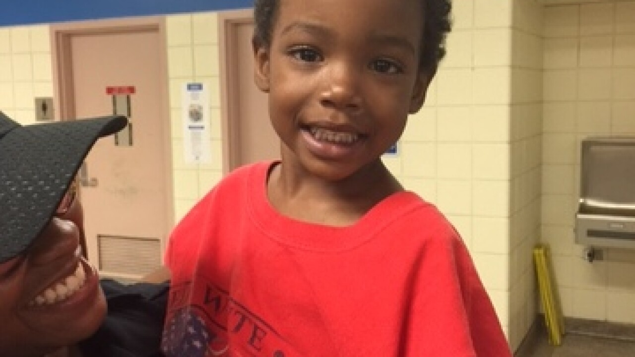 Young boy found wandering in Detroit's Palmer Park