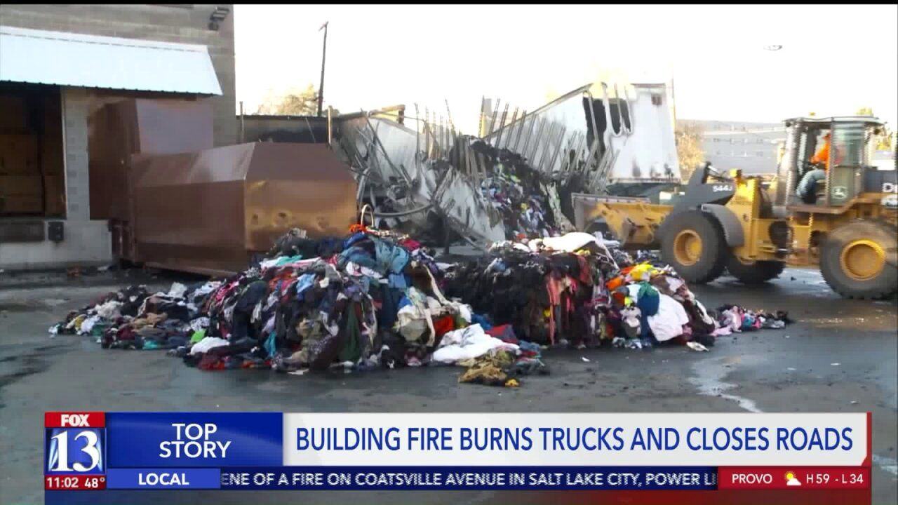 Fire destroys two semitrailers loaded with clothing outside Salt Lake City exportbusiness