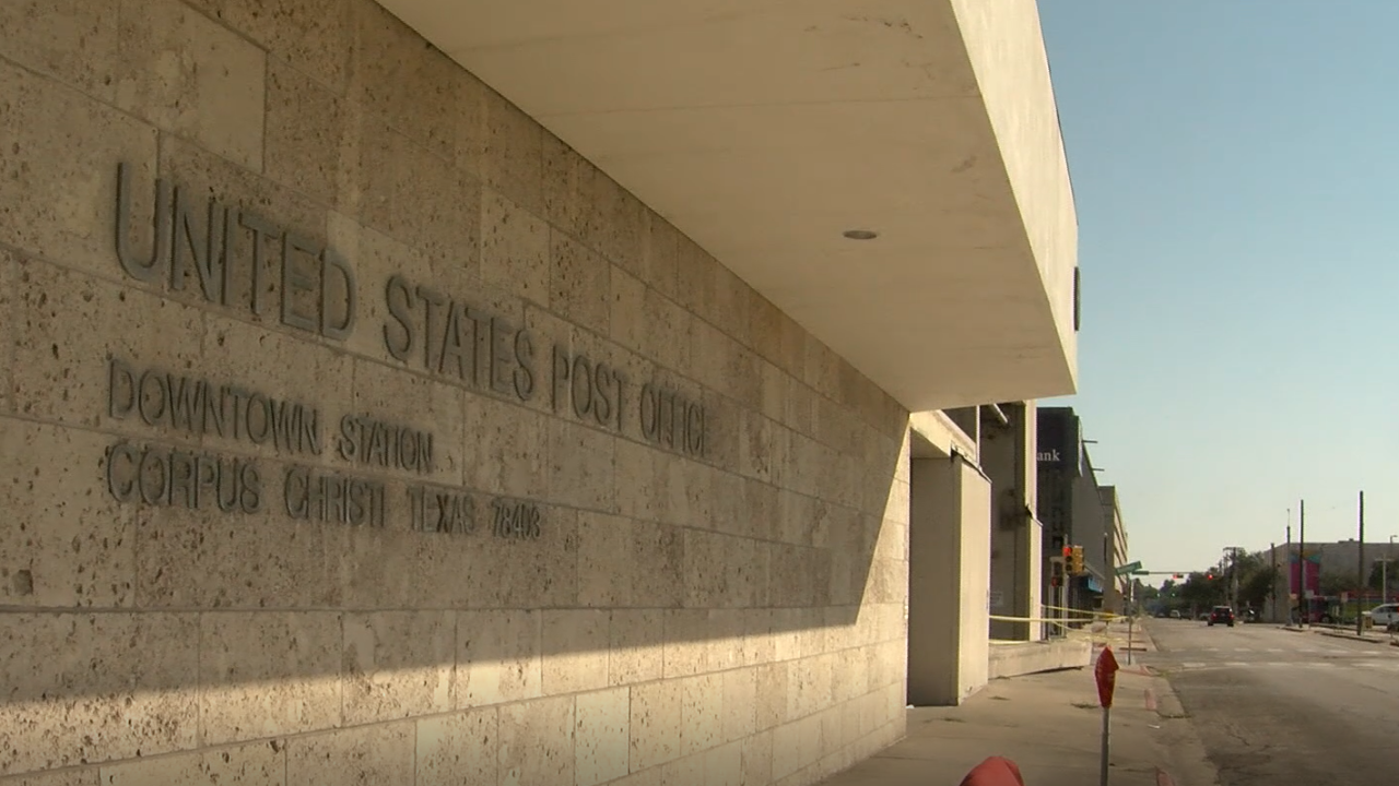 Downtown Post Office Closed