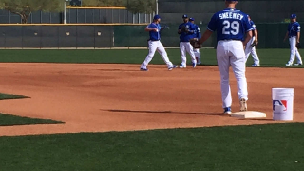 Gang's all here! Royals spring training Day 5