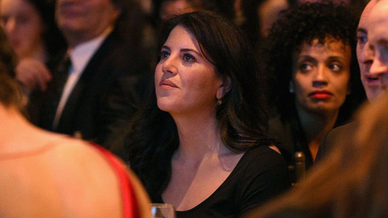 Monica Lewinsky walks off stage in Israel when asked about Bill Clinton