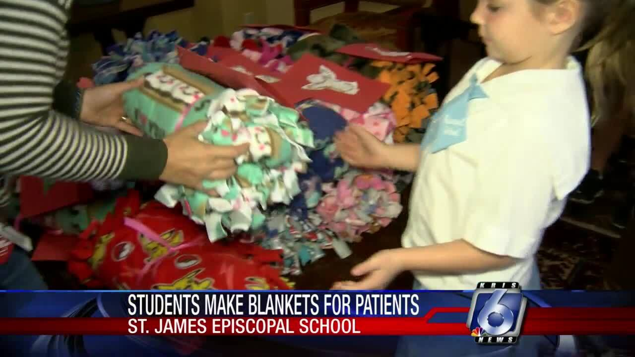 St. James Elementary School blankets