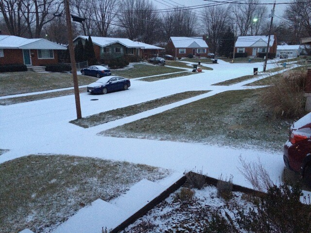 Your photos of snow in the Tri-State