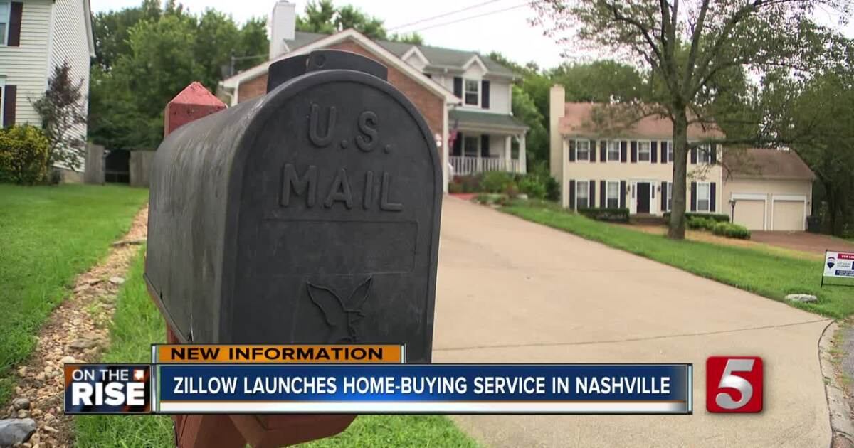 Zillow's home-buying business moves into Nashville