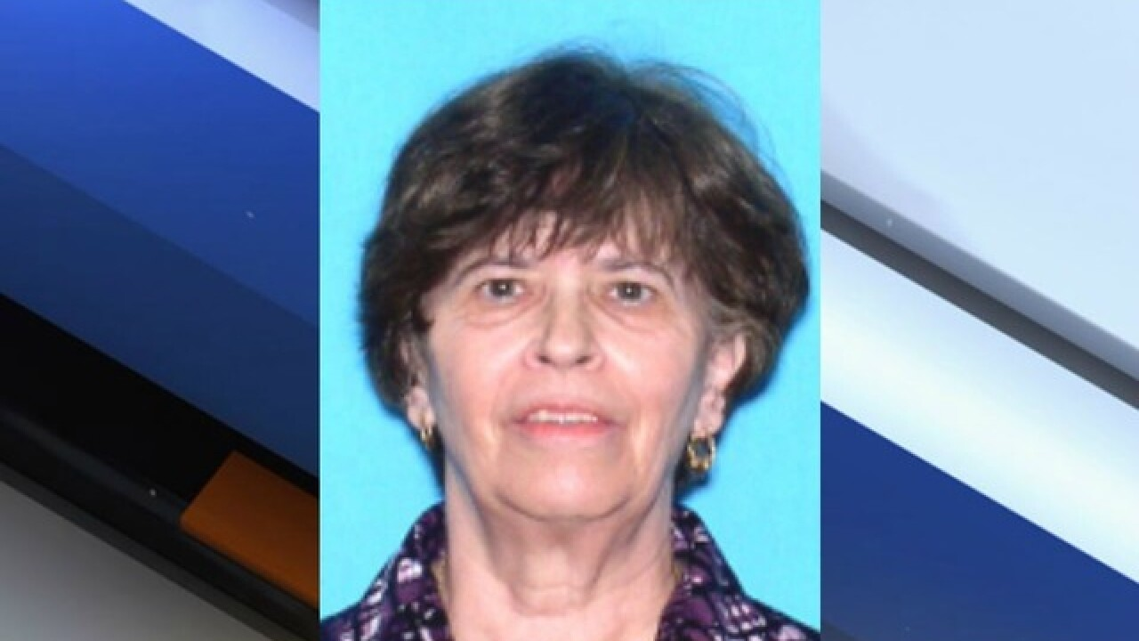 Silver Alert Issued in Citrus County for missing 72-year-old woman
