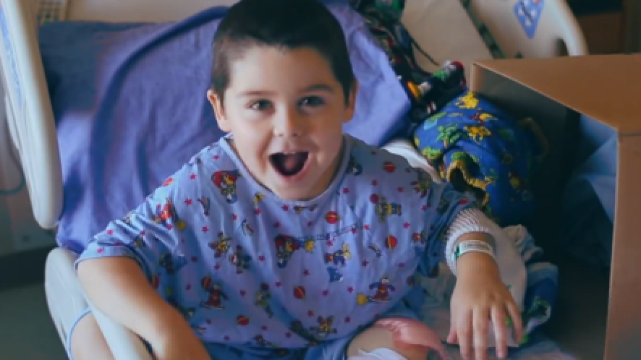 "Viral Video:  Children's hospital sings ""Roar"""
