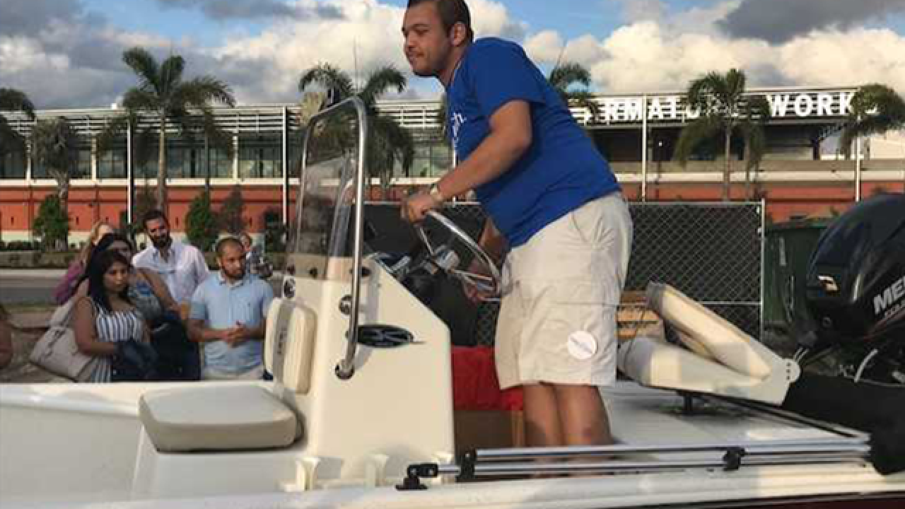 Teen gets boat thanks to Make-A-Wish