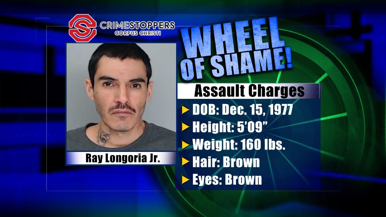 Wheel Of Shame Fugitive: Ray Longoria Junior
