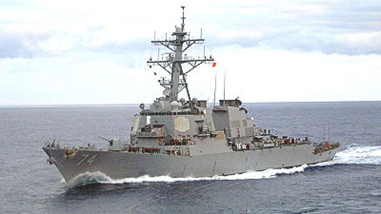 Watch: USS McFaul deploys from Naval StationNorfolk