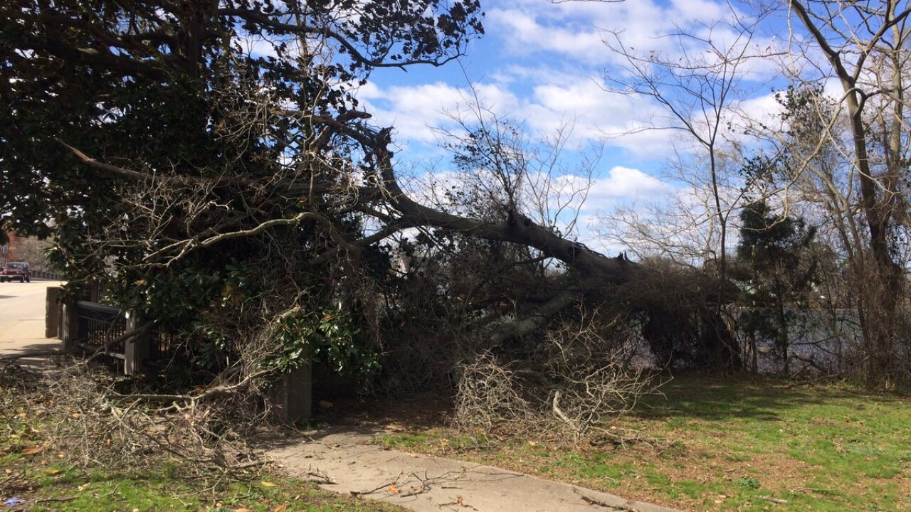 Photos: High winds, coastal flooding on March 2,2018