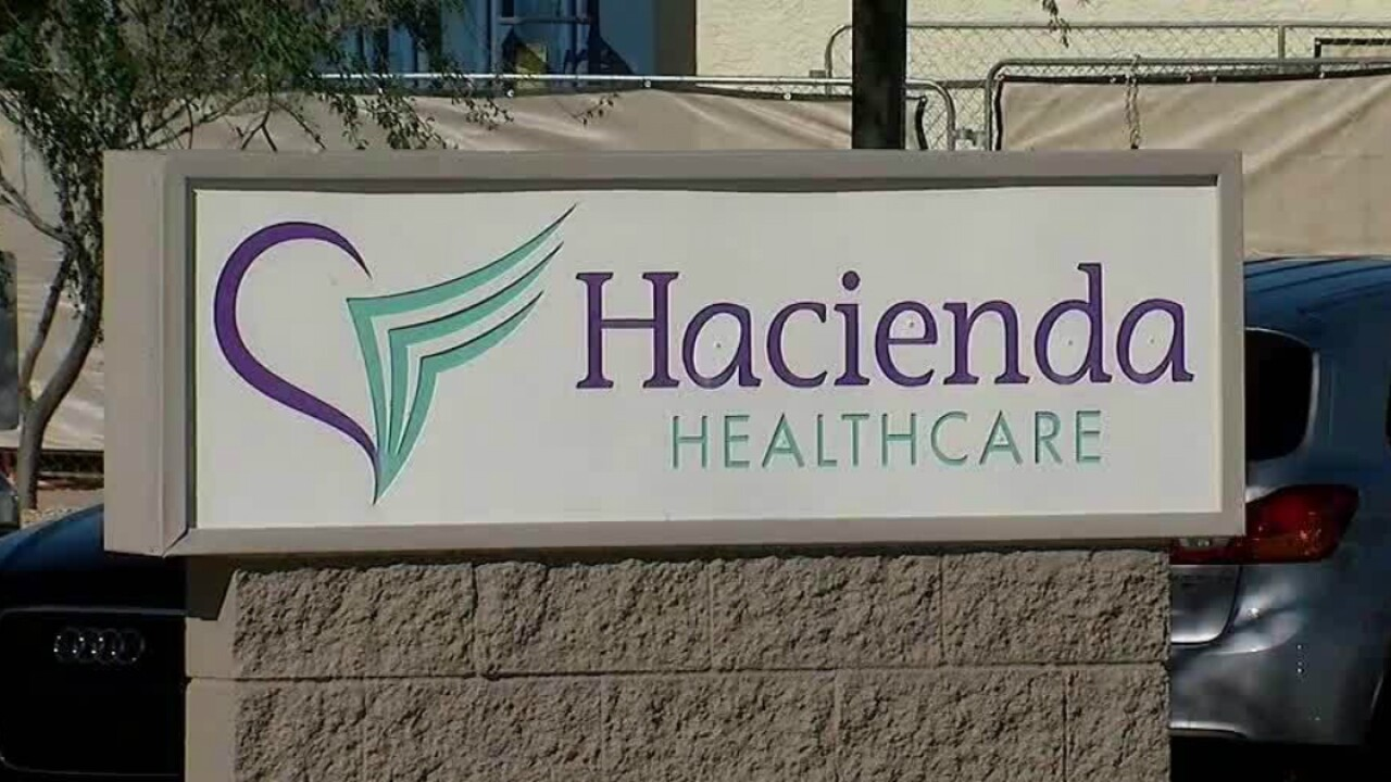 Maggots found under patient's bandage at facility where incapacitated woman sexually assaulted, impregnated