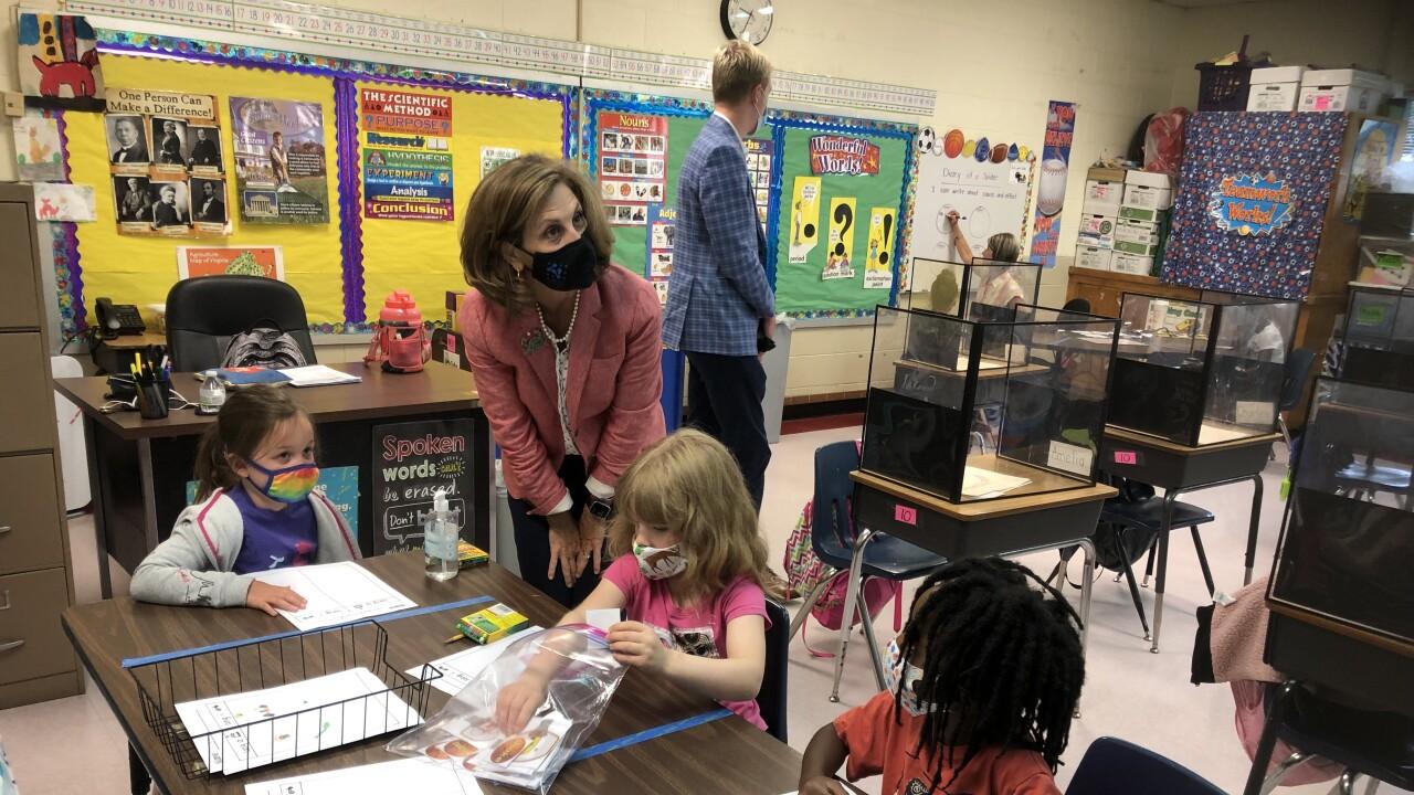 Pamela Northam visits Asbury Elementary School (July 21)