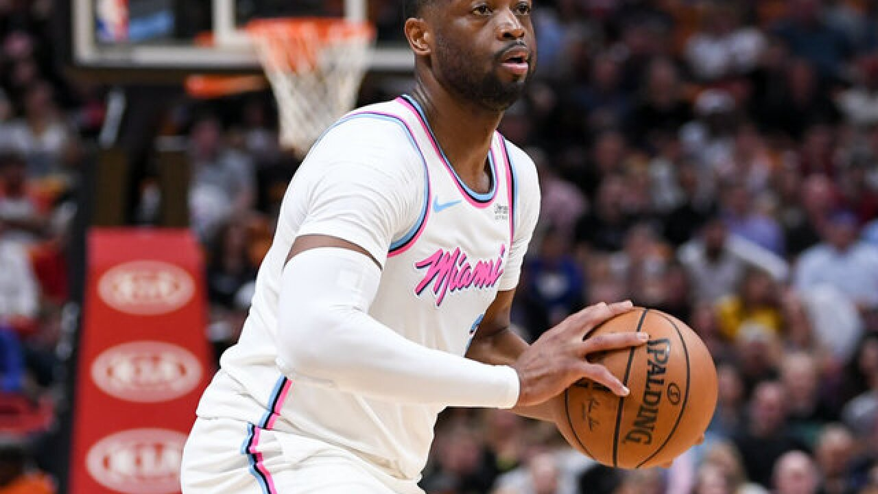 Heat star Dwyane Wade dedicates season to Florida school shooting victim, hits game-winning shot
