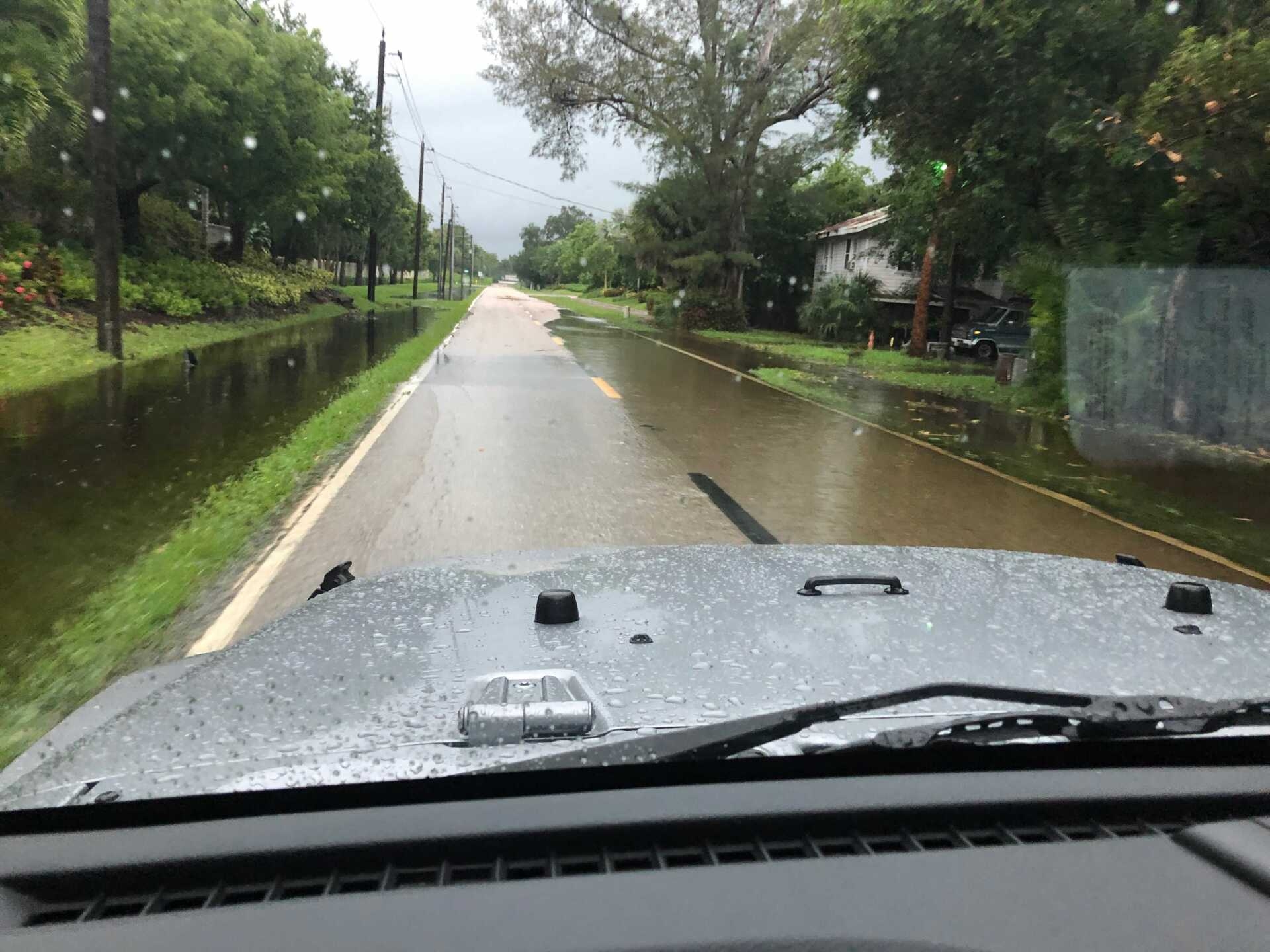 Flooding in Iona area in Fort Myers Credit. Shelli Albright.jpg