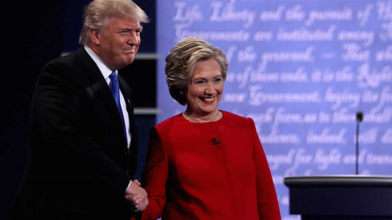 Photo gallery: Trump, Clinton debate in New York
