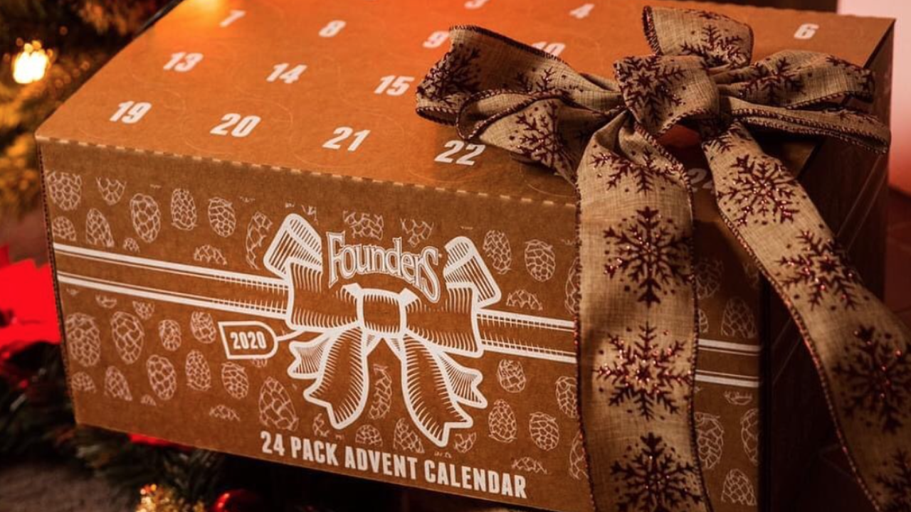 Founders Brewing Co. releases first-ever advent calendar filled with 24 different beers