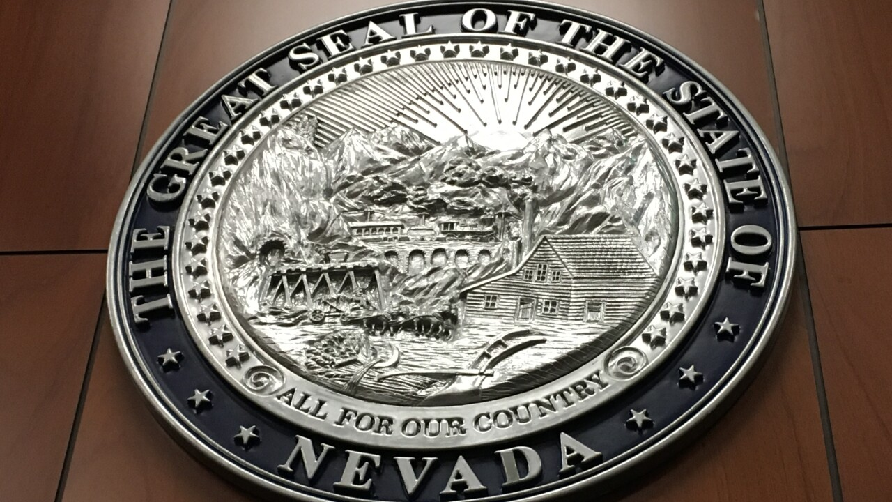 Nevada legislature NV seal
