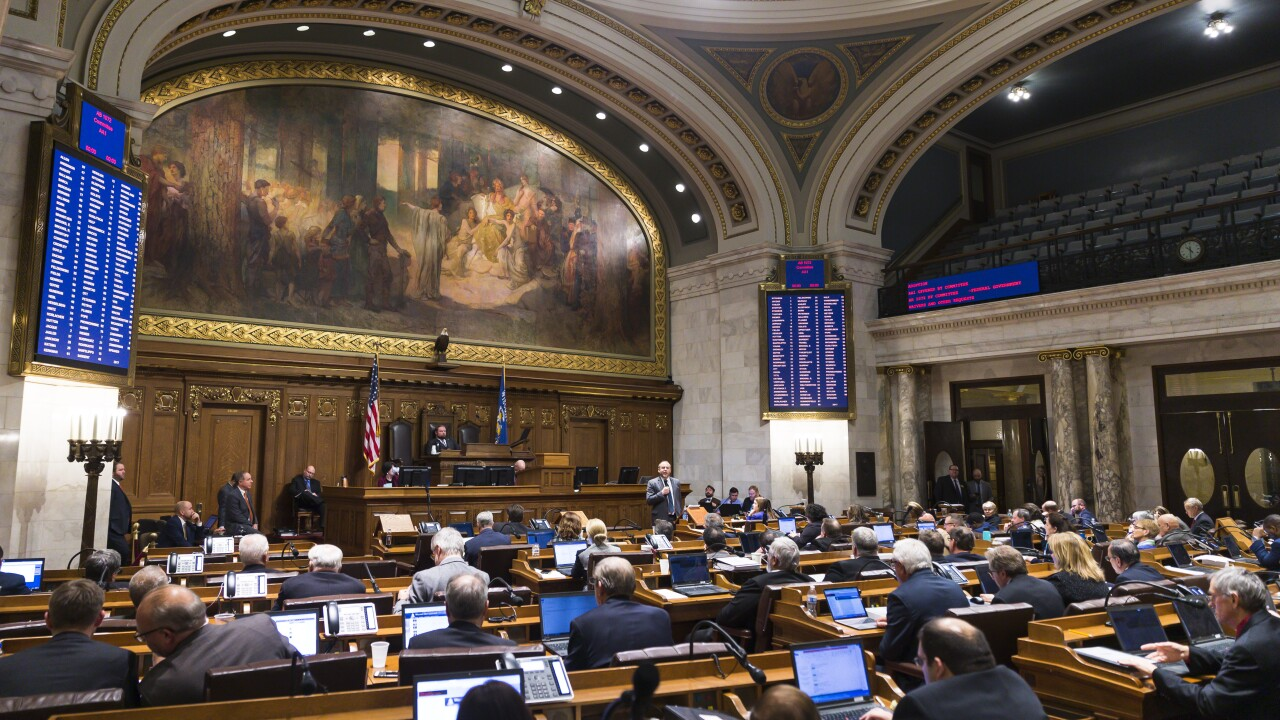 Wisconsin Republicans Try To Push Through Legislation Aimed At Limiting Incoming Democrats Power - wisconsin legistlature