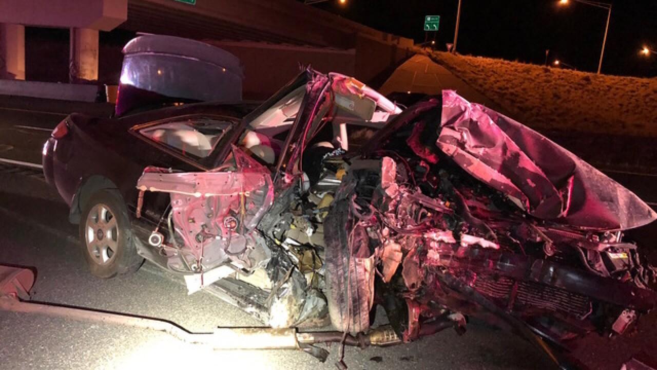 Teen driver hurt in horrific crash near Prescott