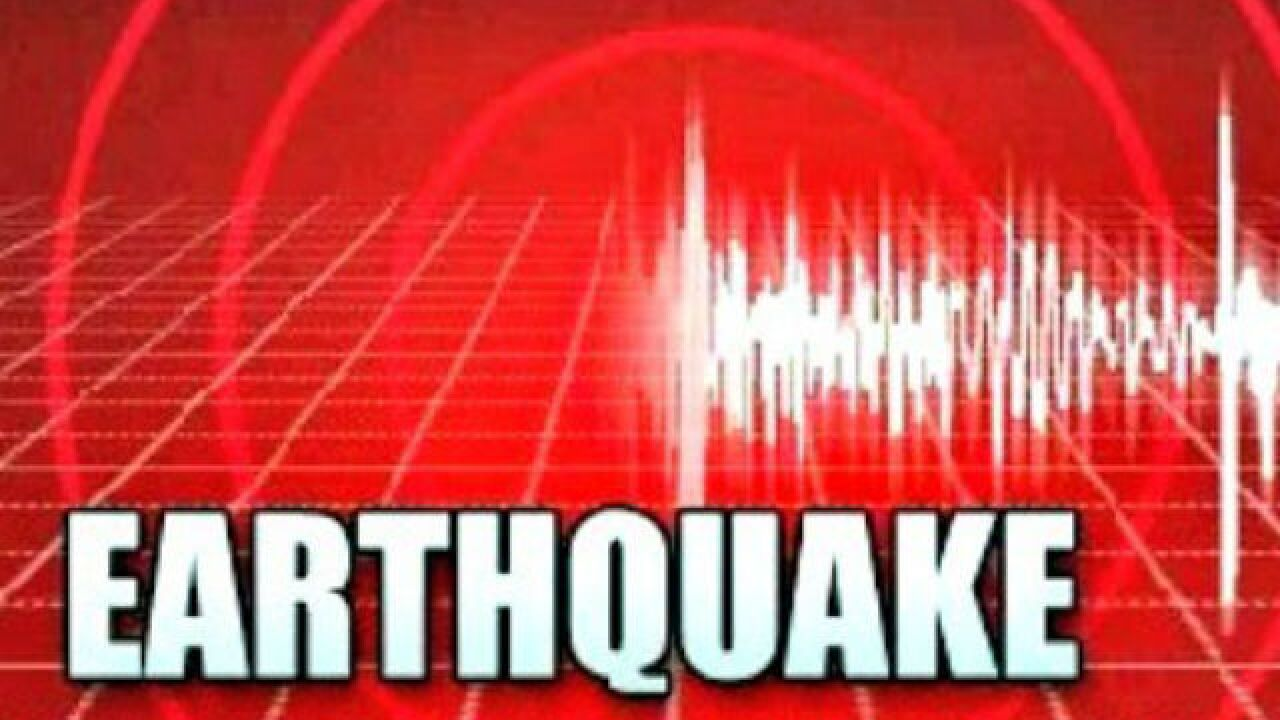 Micro earthquake in Kern County
