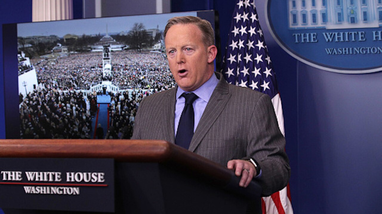 Trump press secretary claims inauguration was most-watched — without proof