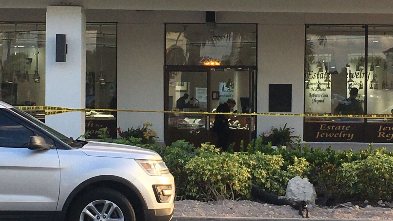 Armed jewelry store robbery, Certified Jewelers.