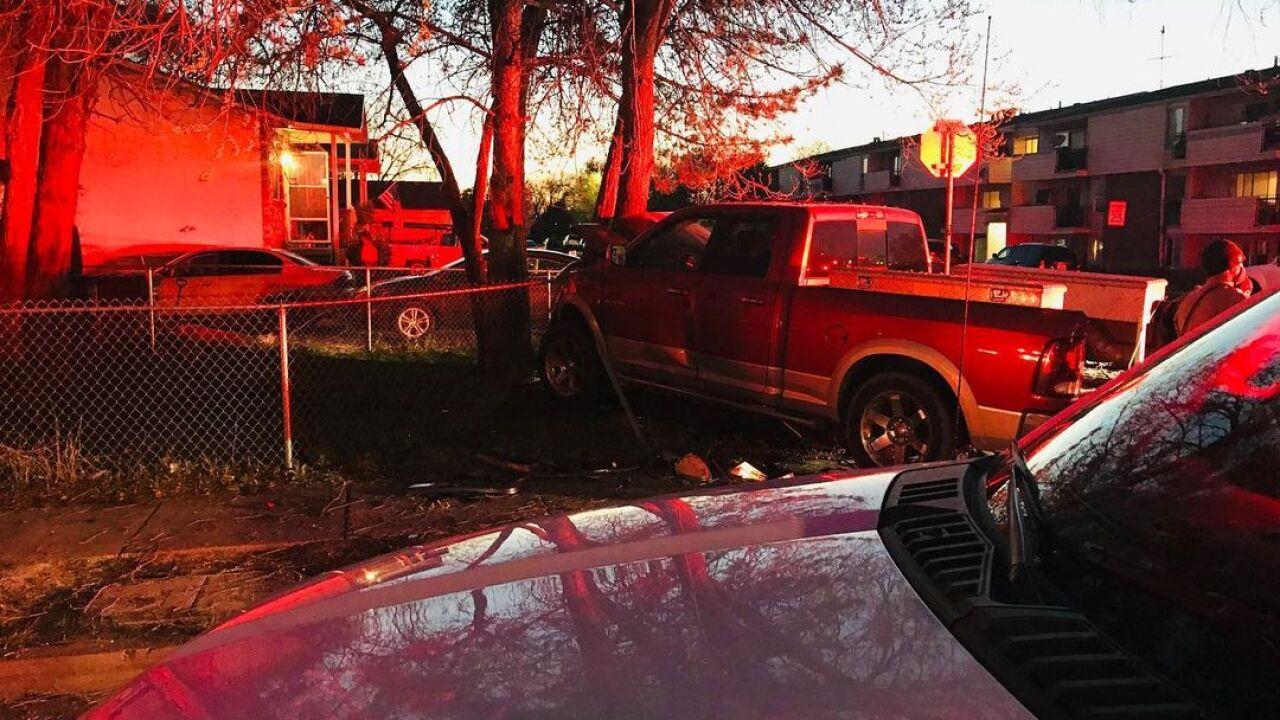 Salt Lake City Rollover Crash, April 11, 2021
