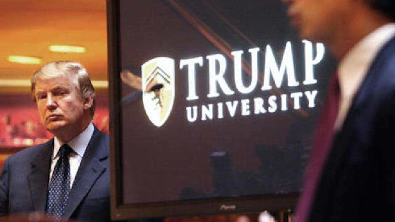 Judge denies request to ban evidence in Trump University trial