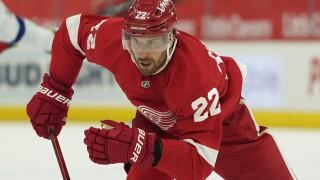 Patrik Nemeth Lightning Red Wings Hockey