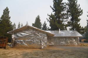 Wildfires-Aluminum Wrapped Homes