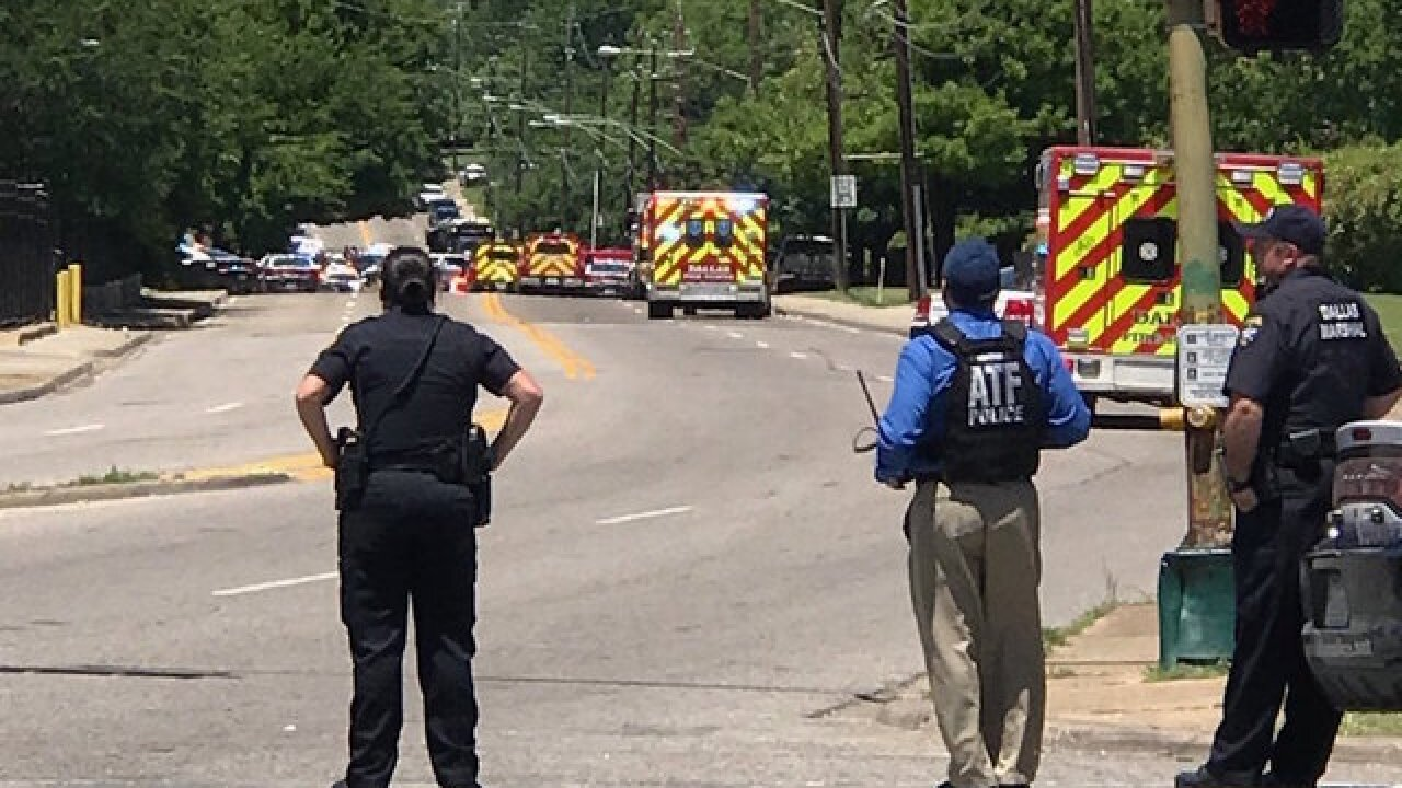 Suspect in shooting of paramedic found dead, Dallas mayor says