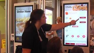 McDonalds new kiosks: Customers react