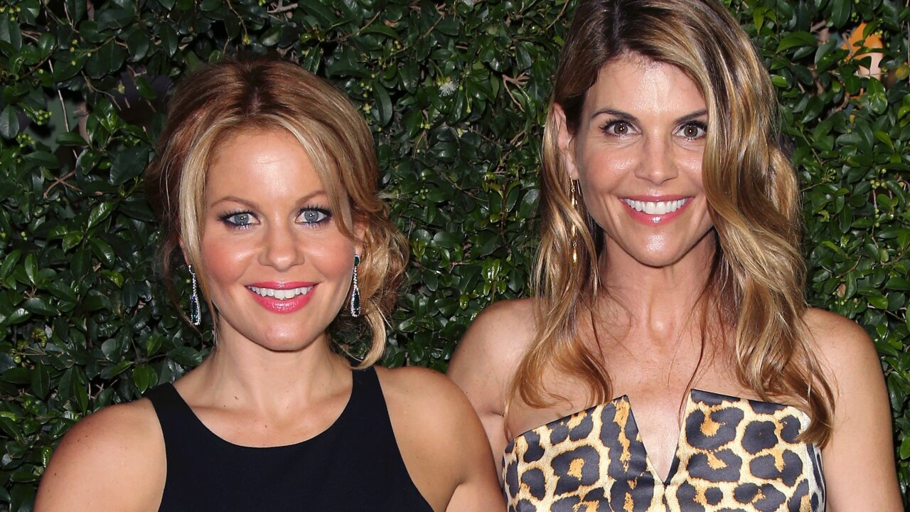 Former 'Full House' co-star Candace Cameron Bure supports Lori Loughlin