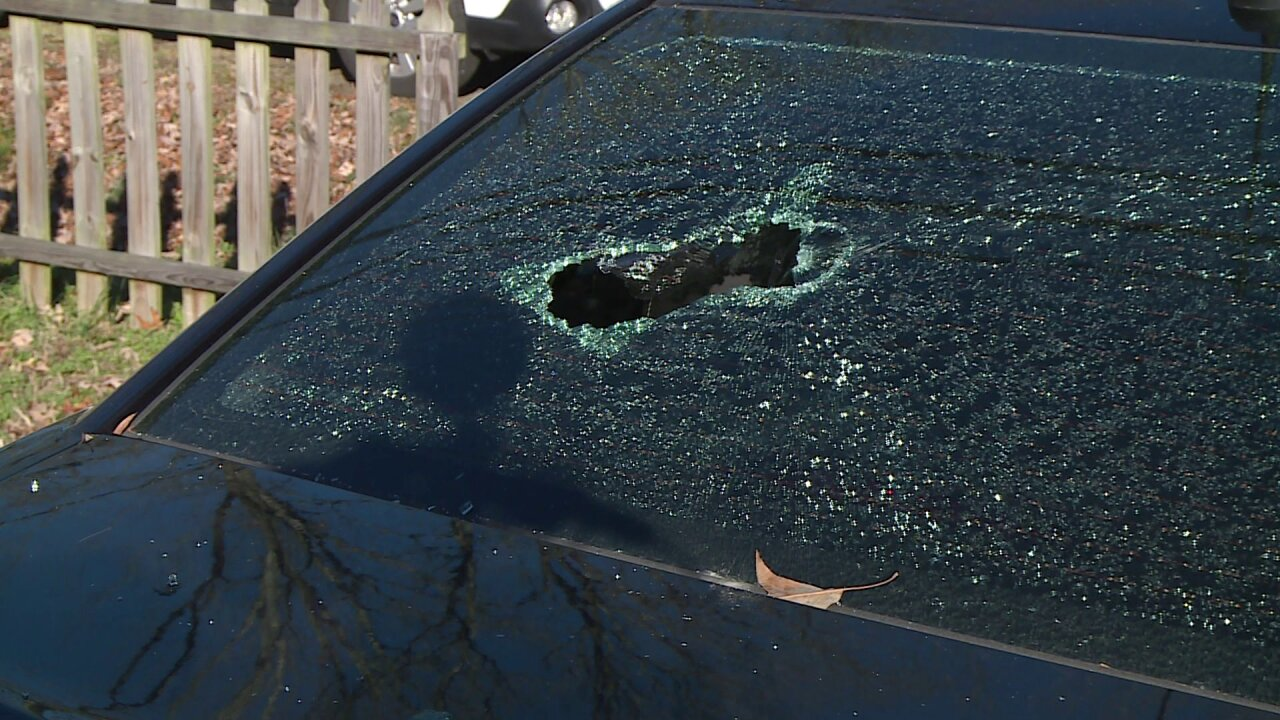 Man shot in Chesterfield neighborhood, car damaged: 'It's madness'