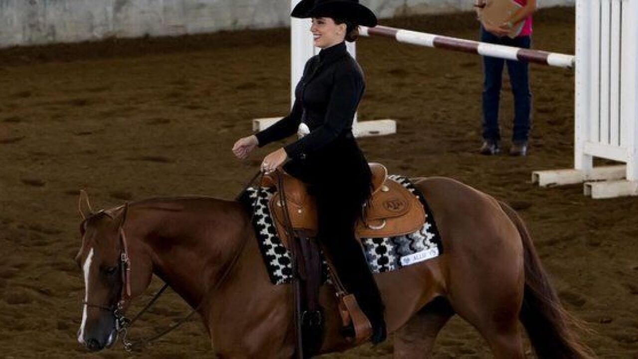 Baylor, A&M equestrian square off