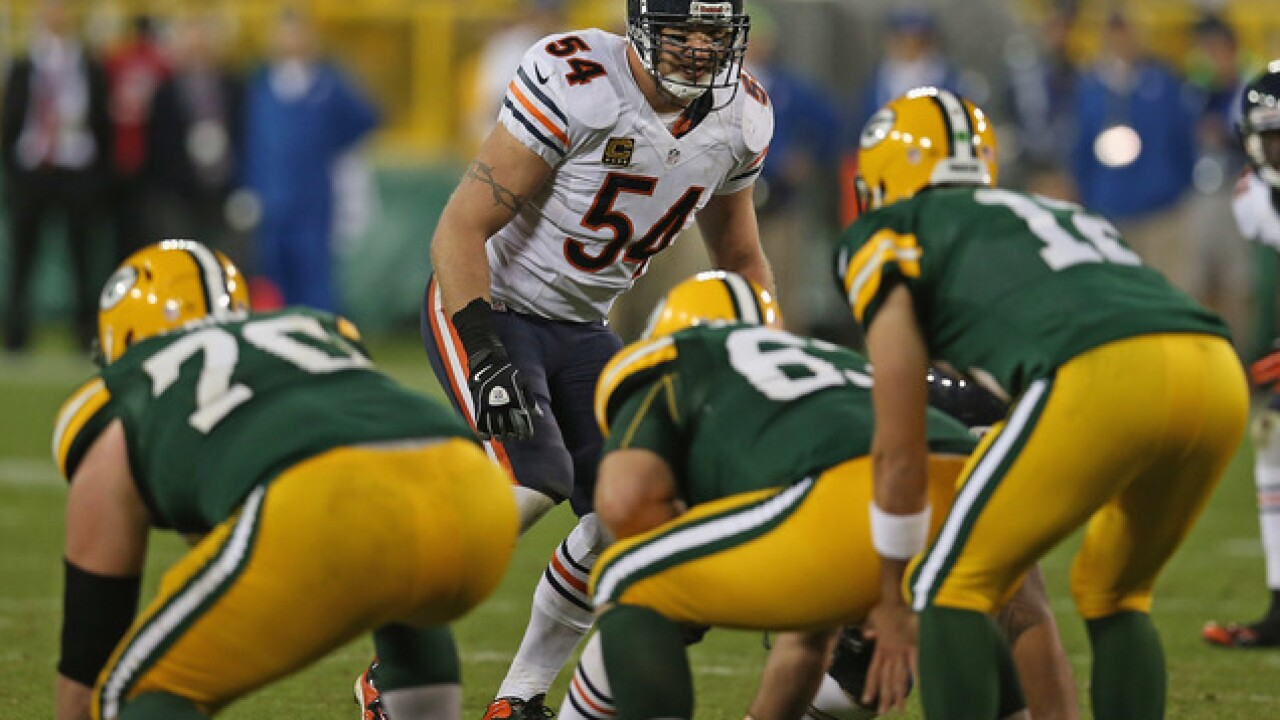 Rodgers   Brian Urlacher should be a first-ballot Hall of Famer  37c00a864
