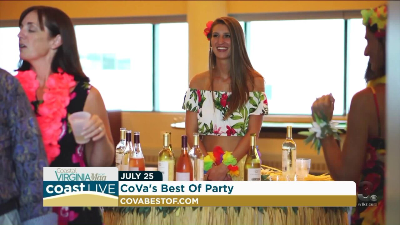 Recipes for easy outdoor entertaining and details on the CoVa Best Of Party on CoastLive