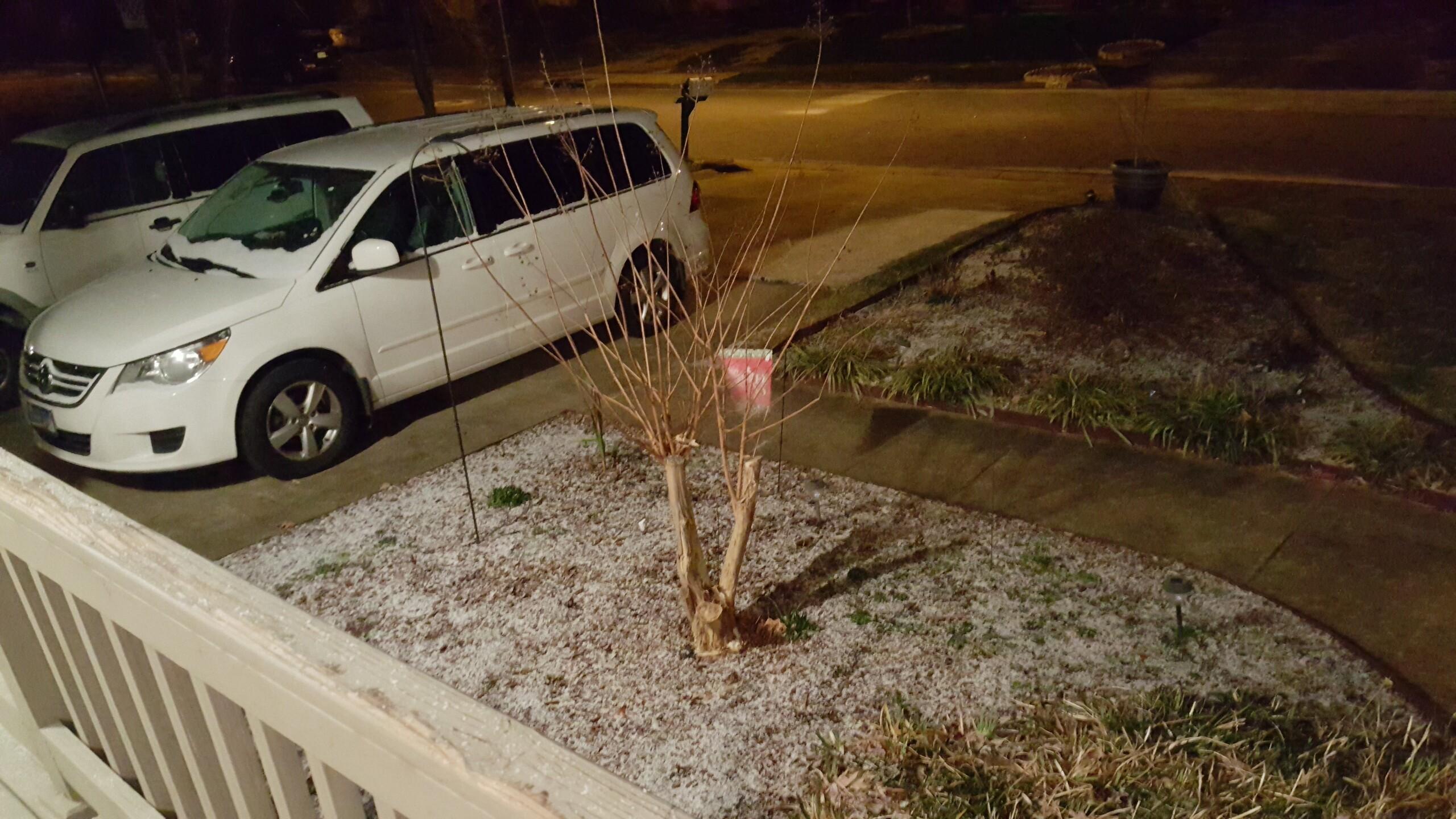 Photos: Your photos: First snow of2016