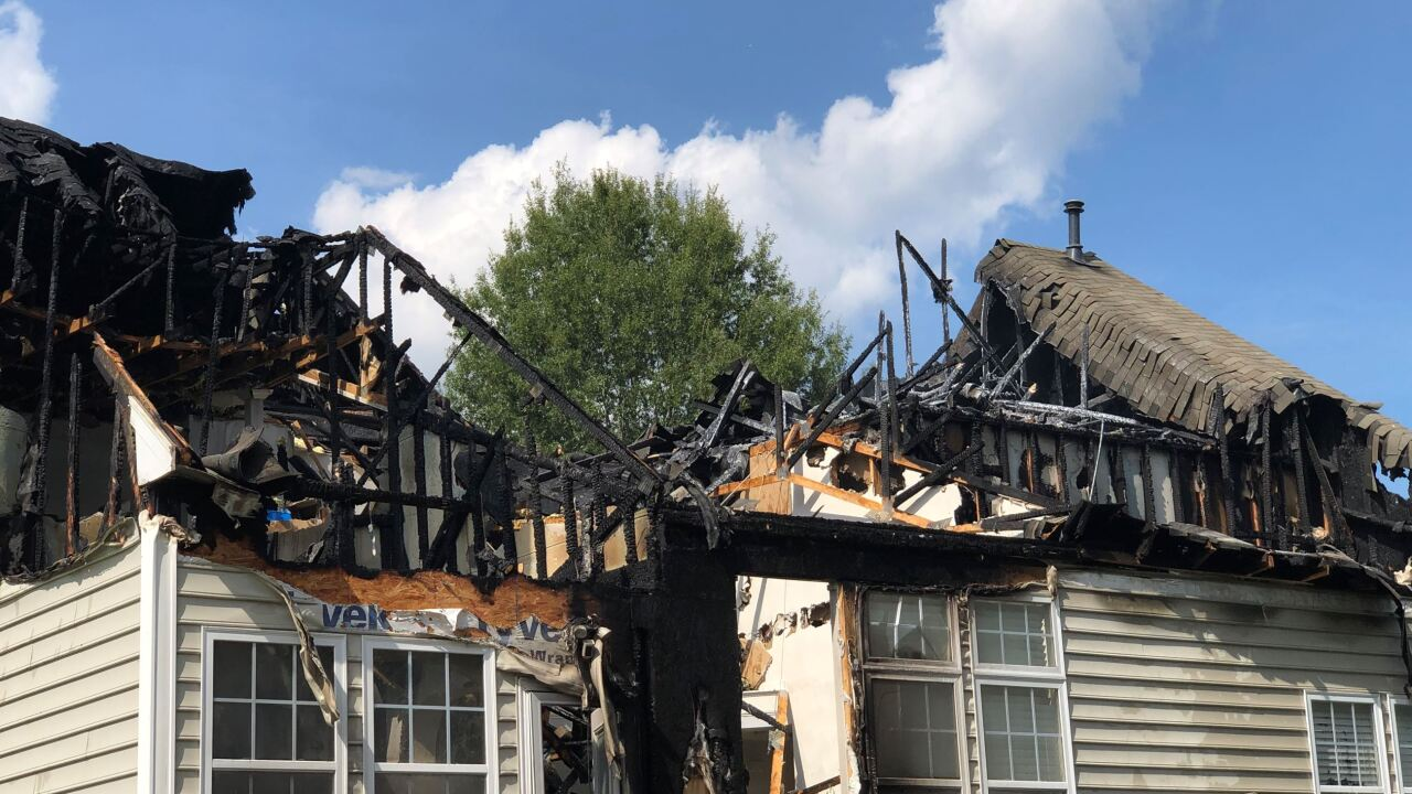 Homeowners displaced after James City Co. house fire