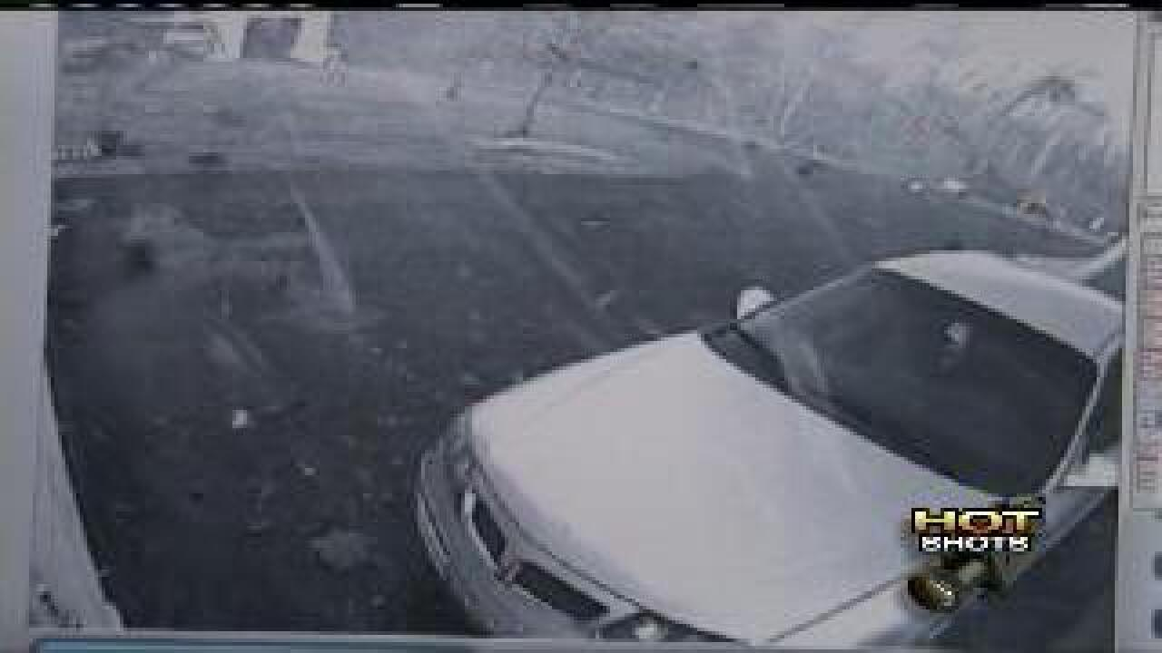Hot Shot: Surveillance video of tornado