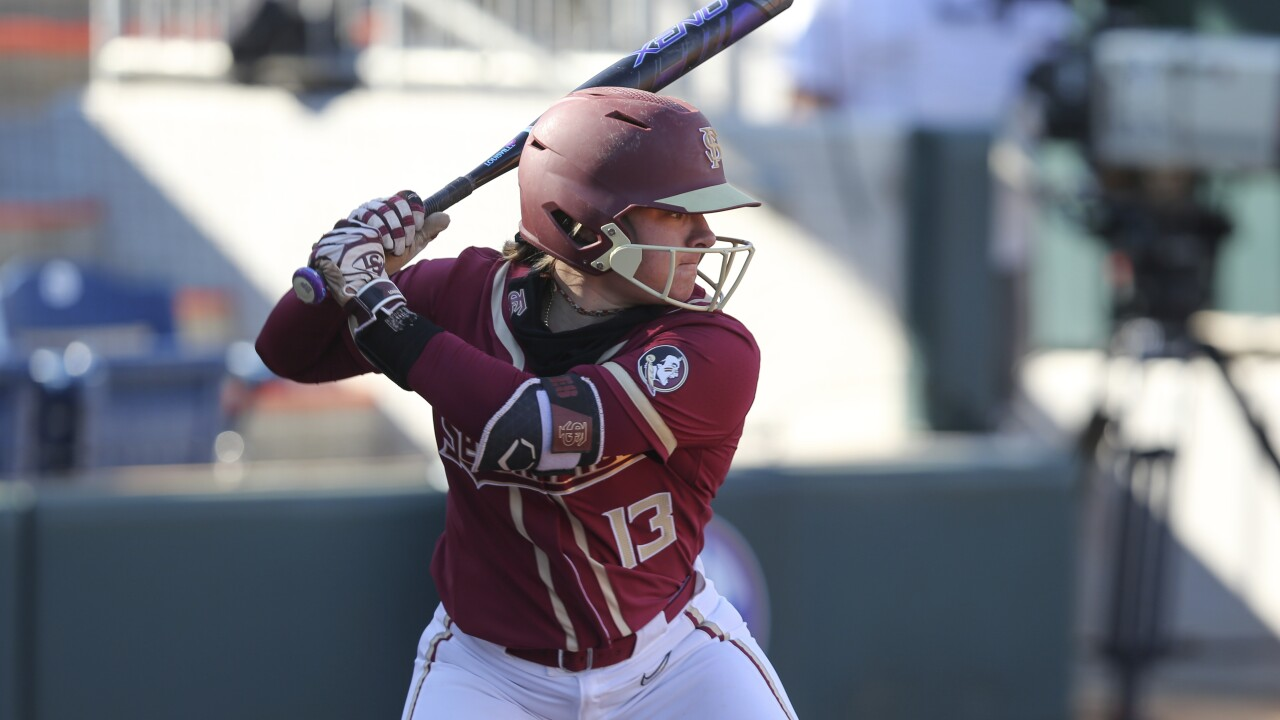 Florida State Softball downs No. 2 Arizona