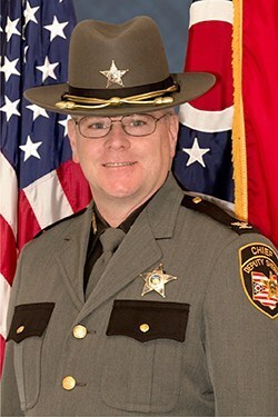 Hamilton County Chief Deputy Mark Schoonover